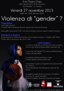 violenza di gender - tutela minori
