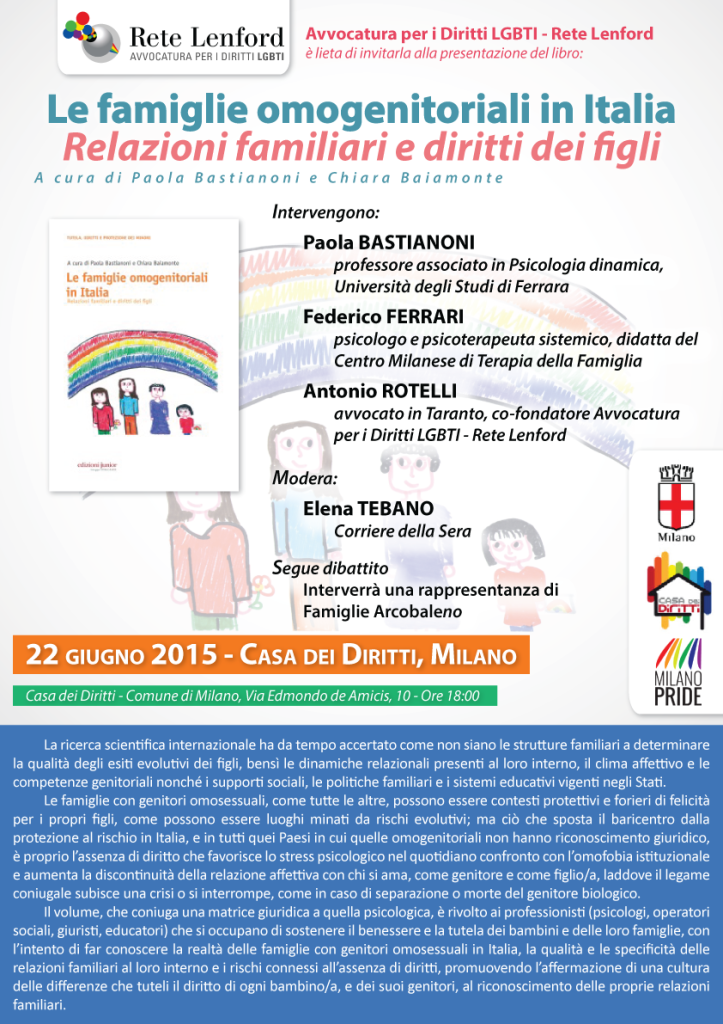 famiglie-omogenitoriali-aggiornata - 22 giugno 2015